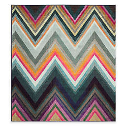 Safavieh Monaco Rylan 6-Foot 7-Inch Square Multicolor Area Rug