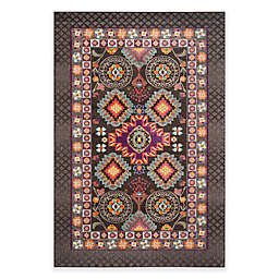 Safavieh Monaco Thane 6-Foot 7-Inch x 9-Foot 2-Inch Area Rug in Brown Multi