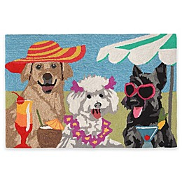 Trans-Ocean Front Porch Sassy Lassies Indoor/Outdoor Accent Rug