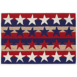 Trans-Ocean Frontporch Stars & Stripes Americana Rug