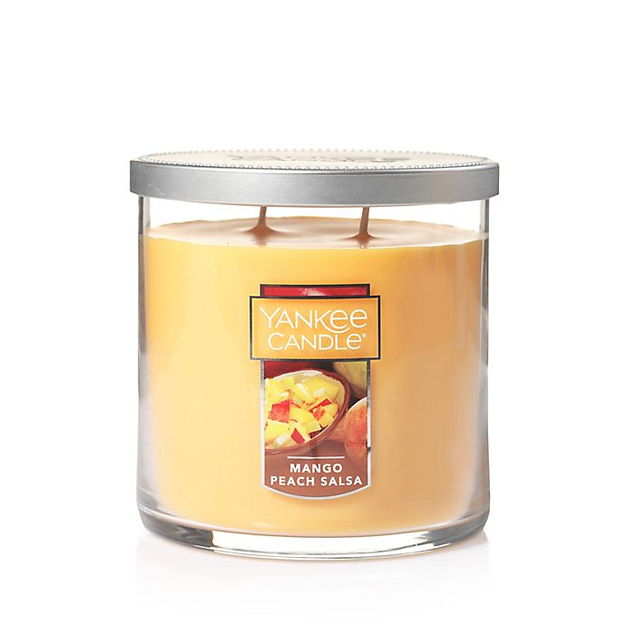 Alternate image 1 for Yankee Candle® Mango Peach Salsa Medium Lidded Tumbler Candle