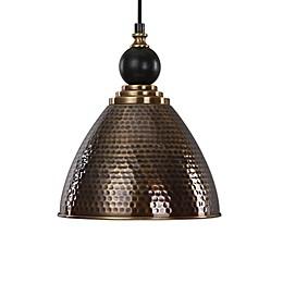Uttermost Adastra 1-Light Pendant in Antique Brass