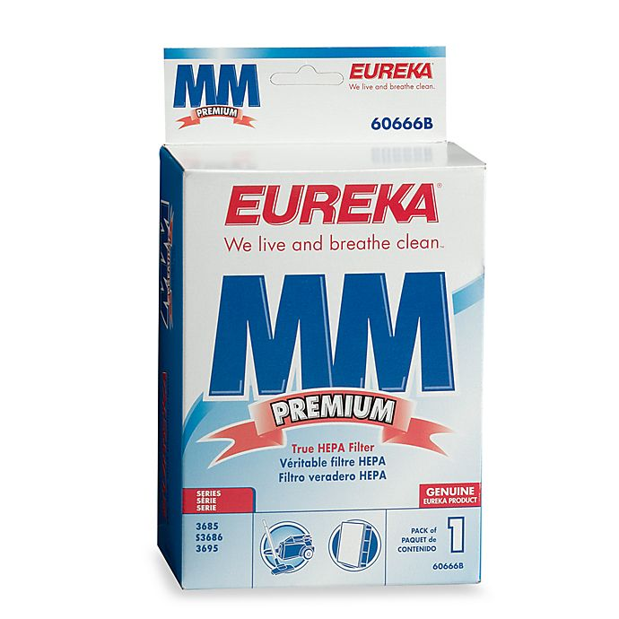 Eureka 174 Boss Mighty Mite Replacement Hepa Filter Bed