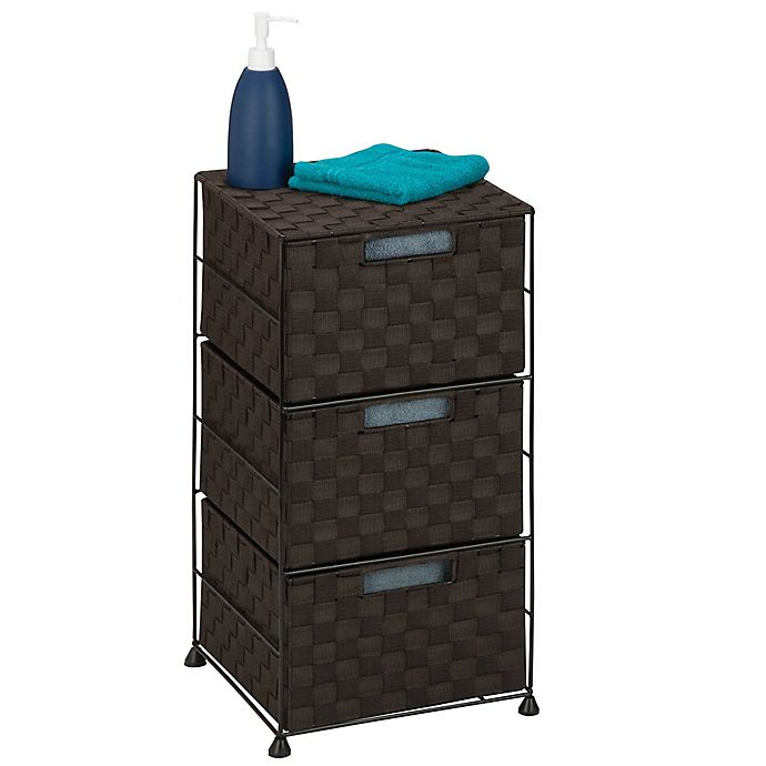Alternate image 1 for Honey-Can-Do® 3-Drawer Chest in Espresso