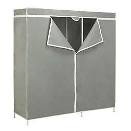 Honey-Can-Do® 60-Inch Steel Frame Cloth Storage Wardrobe in Grey