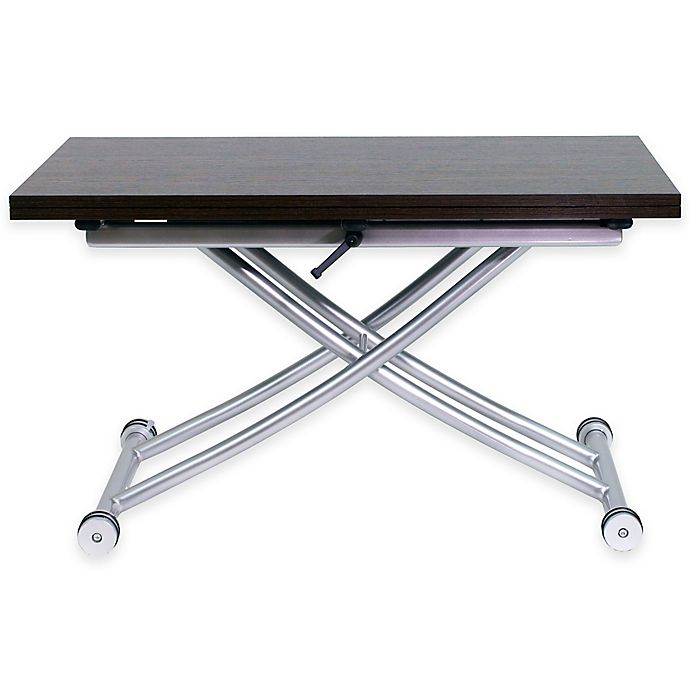 Alternate image 1 for Transforming X Table in Walnut