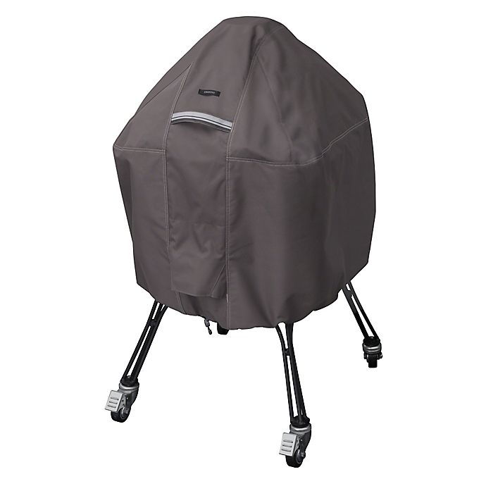 Alternate image 1 for Classic Accessories® Medium Polyester Ravenna BBQ Grill Cover in Taupe