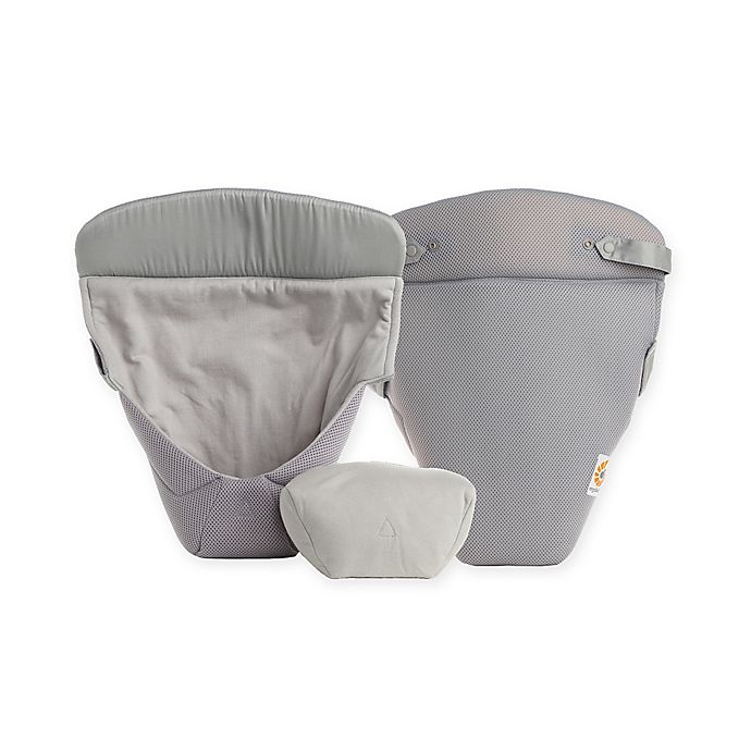 Alternate image 1 for Ergobaby™ Easy Snug Infant Insert in Grey Cool Air Mesh