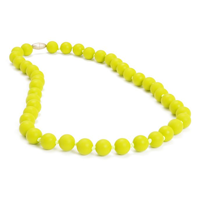 Alternate image 1 for chewbeads® Jane Necklace in Lime