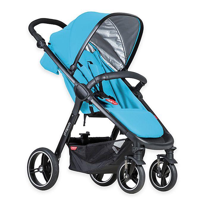 Alternate image 1 for phil&teds® Smart™ Stroller in Cyan