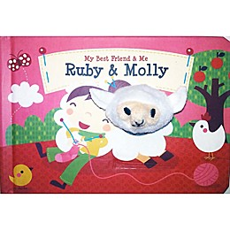 """My Best Friend & Me: Ruby & Molly"" Interactive Finger Puppet Book"