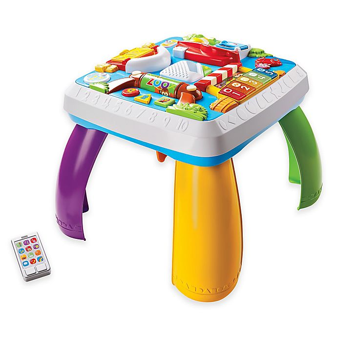 Alternate image 1 for Fisher-Price® Laugh & Learn™ Around the Town Learning Table