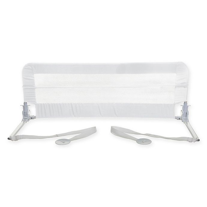 Alternate image 1 for Dreambaby® Harrogate Tall and Wide Bed Rail in White