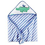carter's® Alligator Hooded Towel in Blue/Green