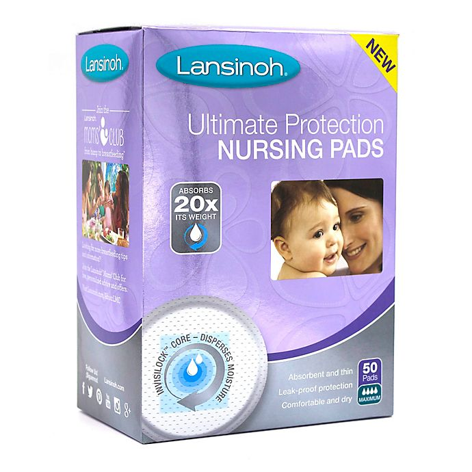 Alternate image 1 for Lansinoh® Ulimate Protection Soft 50-Pack Nursing Pads