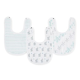 aden + anais™ essentials 3-Pack Baby Star Little Bib