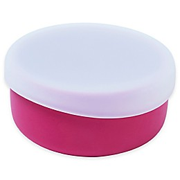 Modern Twist  4.85 oz. Silicone Bowl with Lid in Pink