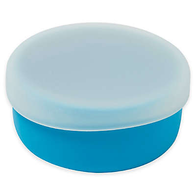 Modern Twist 4.85 oz. Silicone Bowl with Lid in Blue
