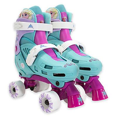 PlayWheels™ Disney™ Frozen® Kids Blue Quad Roller Skates