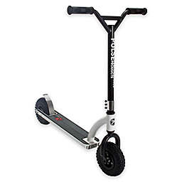 Pulse Performance DX1 Freestyle Dirt Scooter in Black/White