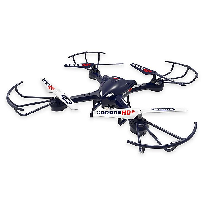 Alternate image 1 for XDrone HD 2 in Blue