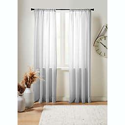 Studio 3B™ Delray Sheer Linen Window Curtain Panel (Single)