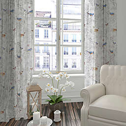 Levtex Home Clea 84-Inch Window Curtain Panel in Grey