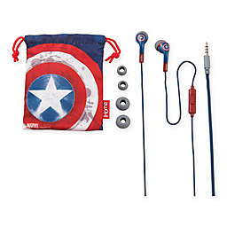 Captain America iHome Cobrand Ear Buds