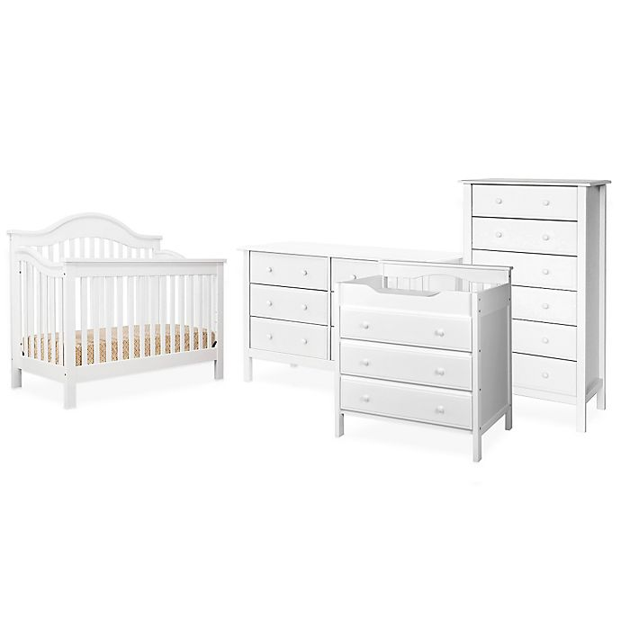 Alternate image 1 for DaVinci Jayden Nursery Furniture Collection in White