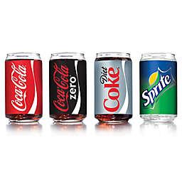 Luminarc Coca-Cola Assorted Can-Shaped Glasses (Set of 4)