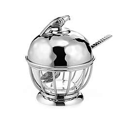 Mary Jurek Design Animal Collection Robin Condiment Pot with Spoon