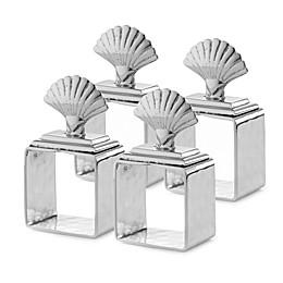 Mary Jurek Design Animal Collection Shell Napkin Rings (Set of 4)