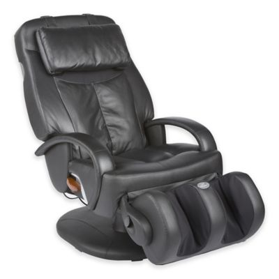 Human Touch 174 Thermostretch Massage Chair In Black Bed