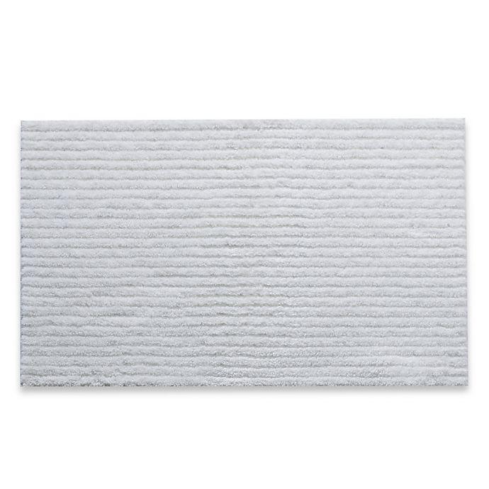 Alternate image 1 for Dri-Soft® Bath Rug in White