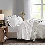 Madison Park 3M Microcell King Sheet Set in White