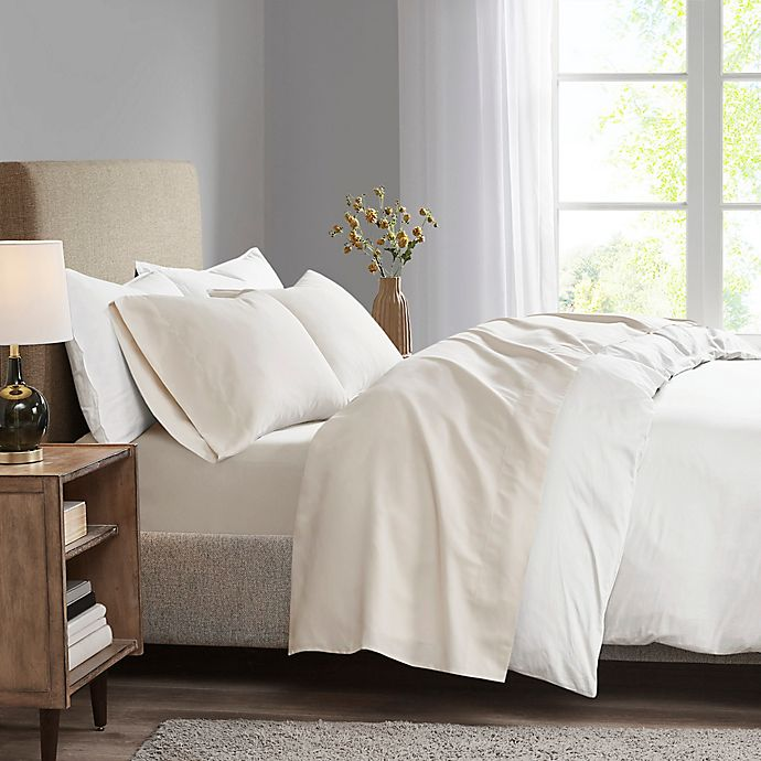 Alternate image 1 for Madison Park 3M Microcell California King Sheet Set in Ivory
