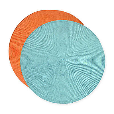 Klaussner Braided Placemat Set (Set of 6)