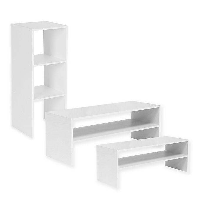 Alternate image 1 for Stackable Shelf Organizer Collection