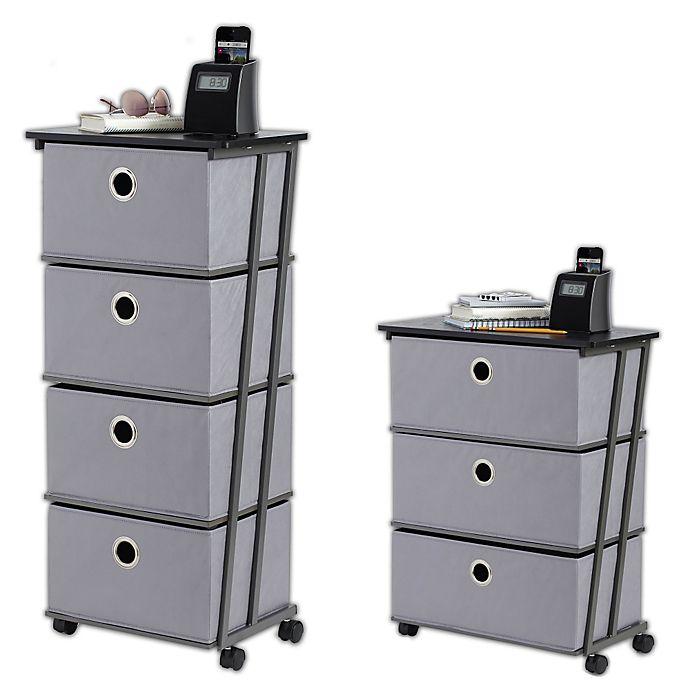 Alternate image 1 for Studio 3B™ Storage Cart in Grey