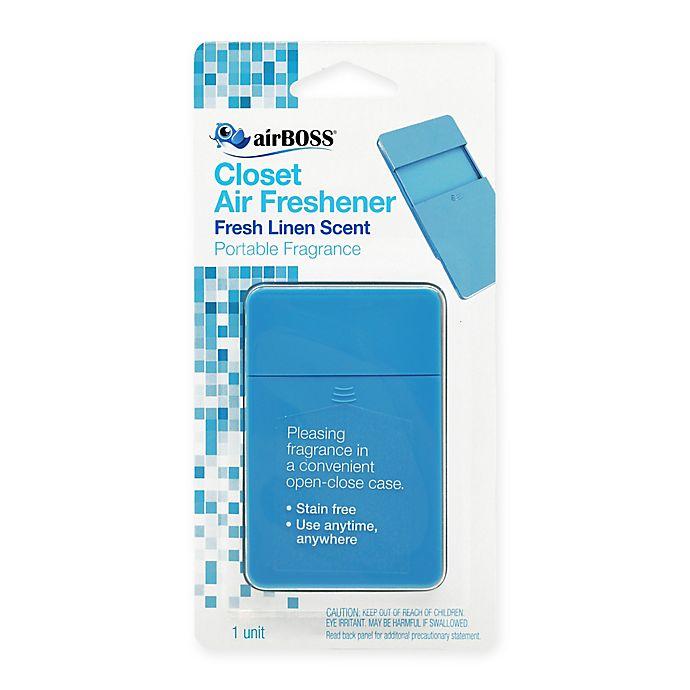 Alternate image 1 for AirBOSS Closet Air Freshener in Linen Scent