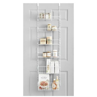 Admirable Salt Pantry Organizer In White Interior Design Ideas Gresisoteloinfo