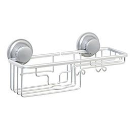 TITAN® Power Grip® NeverRust® Suction Combo Shower Basket