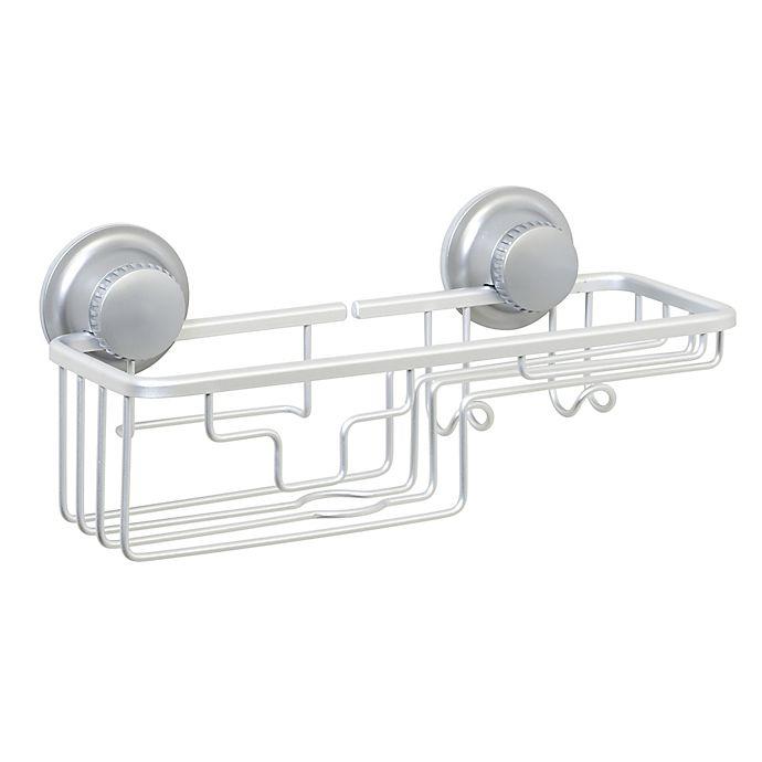 Alternate image 1 for TITAN® Power Grip® NeverRust® Suction Combo Shower Basket