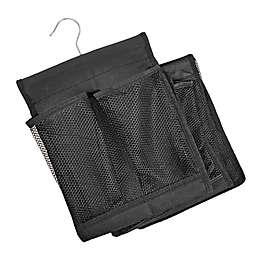 Scarf Maximizer Hanging Scarf Storage Organizer in Black