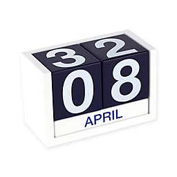 ThreeSixFive Desk Calendar in Navy