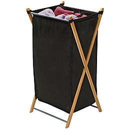 Household Essentials® Bamboo X-Frame Laundry Hamper