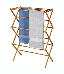 Household Essentials® Tendedero en forma de X de bambú