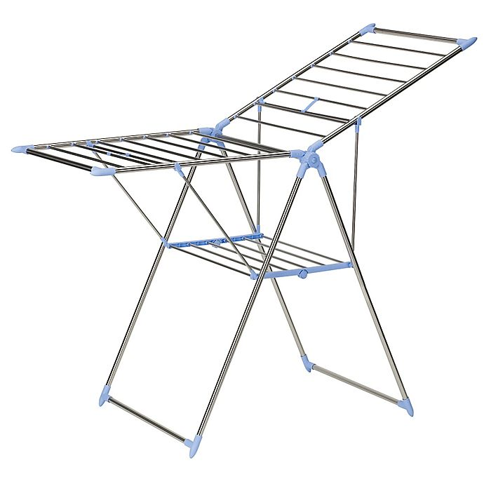 Alternate image 1 for Household Essentials® Gullwing Clothes Drying Rack