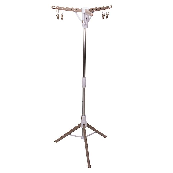 Alternate image 1 for Household Essentials® Tripod Clothes Dryer in Tan