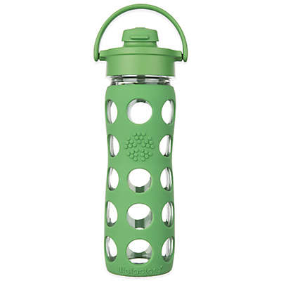 Lifefactory®Glass Water Bottle with Flip Cap